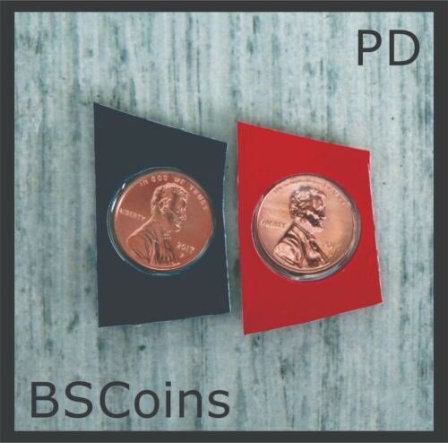 Sets Ship TODAY!! 2018 P/&D Lincoln Cents BU in Mint plastic from US Mint Unc