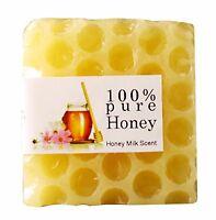 Handmade Whitening Peeling Glutathione Arbutin Honey Kojic Acid Soap 80g