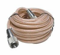 Roadpro Rp-8x18cl 18' Clear Cb Antenna Mini-8 Coax Cable With P... Free Shipping
