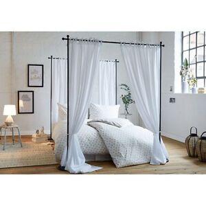 paravent air raumtrenner eisen metallgestell bett schlafzimmer bettgestell ebay. Black Bedroom Furniture Sets. Home Design Ideas