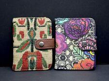 Paperchase Card Ticket Holder Wallet Floral Design Trifold