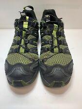 Salomon Mens XA Pro Mid GTX Hiking Shoe Iguana Greenblack