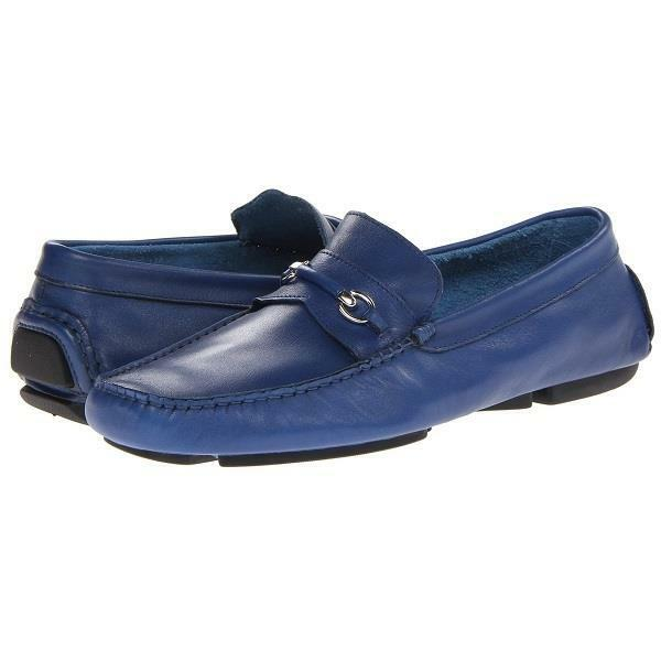 Bruno Magli  Pogia  Bit Loafer,  Moccasins, Men's Driving shoes, bluee 7-8US