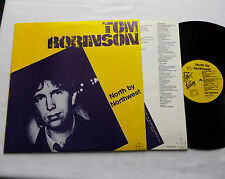 Tom ROBINSON North by northwest SPAIN Orig LP+Inner PANIC Rds (1982) EX/NM