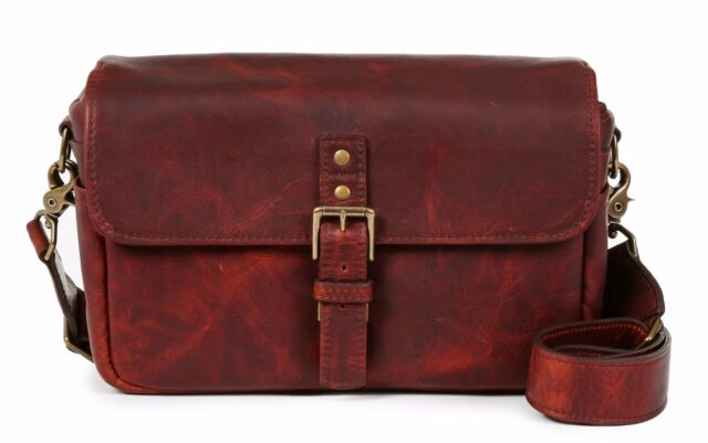 09f08a035e0 ONA Bowery Leather Messenger Bag Red Merlot Bordeaux for sale online ...