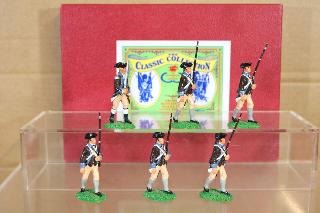 Trofeo Miniature AR5 Americano Rivoluzione 14° Massachusetts Reggimento