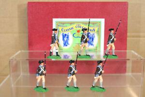 Prix Miniatures Ar5 Américain Révolution 14th Massachusetts Regiment Marching