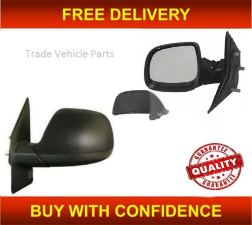 Vw Transporter 2010-2015 Door Wing Mirror Manual Black Passenger Side UK Seller