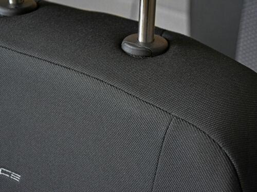 VW POLO CLASSIC 2x FRONT velluto p3-114 Coprisedili auto rivestimenti Coprisedile