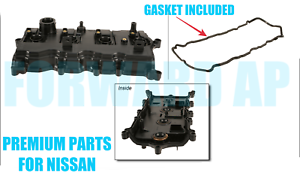 NEW-PREMIUM Engine Valve Cover w// Gasket for 08-12 Nissan Rogue 2.5L DOHC QR25DE