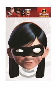 Strict Violet (incredibles) Carte Masque, Déguisement-afficher Le Titre D'origine Artisanat D'Art