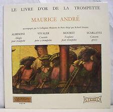 33T MAURICE ANDRE ALBINONI VIVALDI MOURET SCARLATTI LP DOUATTE LIVR OR TROMPETTE