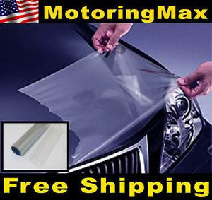 12-034-x-48-034-Clear-Bra-Headlight-Bumper-Hood-Paint-Protection-Film-Vinyl-Sheet
