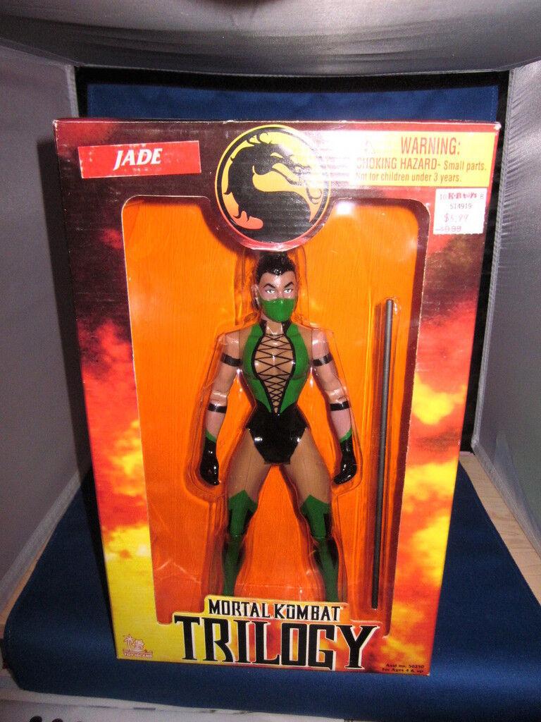 Mortal Kombat Trilogy Jade Figura De Acción 10 pulgadas