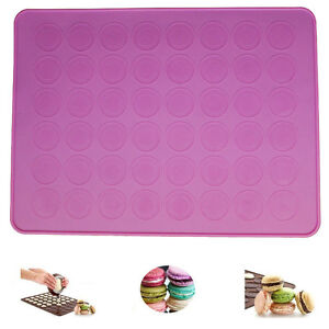 Silicone-Macaron-Macaroon-Pastry-Oven-Baking-Mould-Sheet-Mat-DIY-Tool-LD162