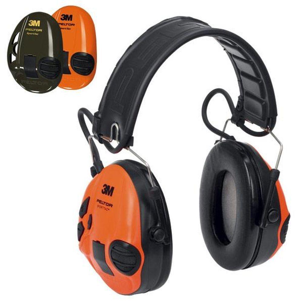3M Peltor aktiver aktiver aktiver Gehörschutz SportTac olive Orange 4fb4f1