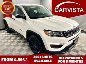 2018 Jeep Compass Sport FWD - NO ACCIDENTS/FACTORY WARRANTY -