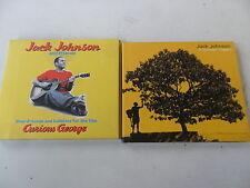 2 x Jack Johnson CD - In Between Dreams/Curious George - 2 x Digipack - gut