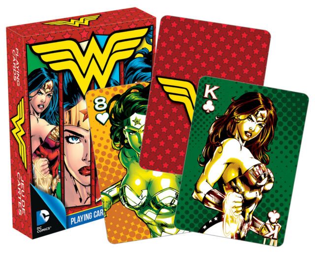 Aquarius Wonder Woman DC Comics History Playing Cards