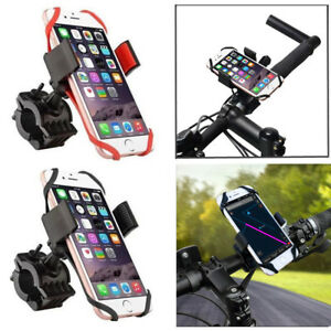 Bike Bicycle Motorcycle Handlebar Phone Holder & Support Band For iphone Samsung