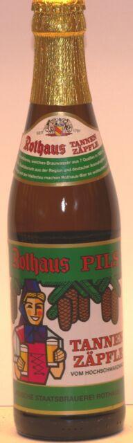 Rothaus Pils Tannenzäpfle 10 x 0,33 Ltr. aus dem Schwarzwald