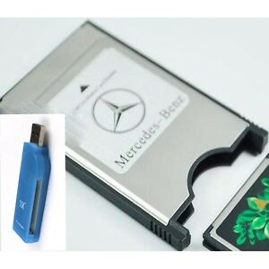 Pcmcia media card adapter for s series class mercedes benz for Pcmcia card for mercedes benz