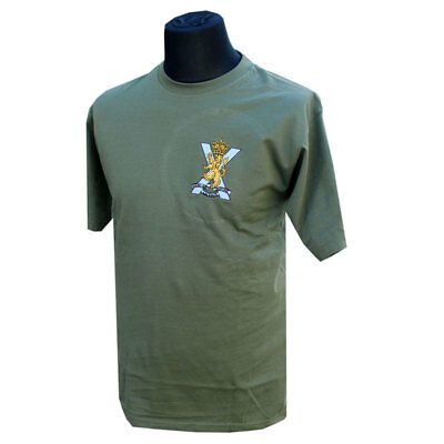 ROYAL REGIMENT OF SCOTLAND RRS EMBROIDERED//GRAPHIC REGIIMENTAL T-SHIRT