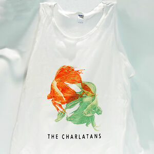 brit pop rock t-shirt vest top THE CHARLATANS stone roses happy mondays S-2XL