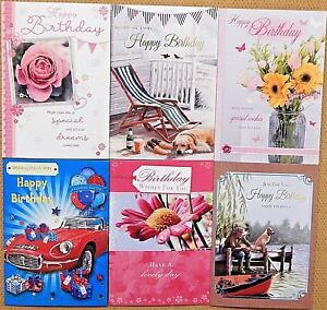 Image Is Loading Pack Of 6 Assorted Male Female Ladies Mens