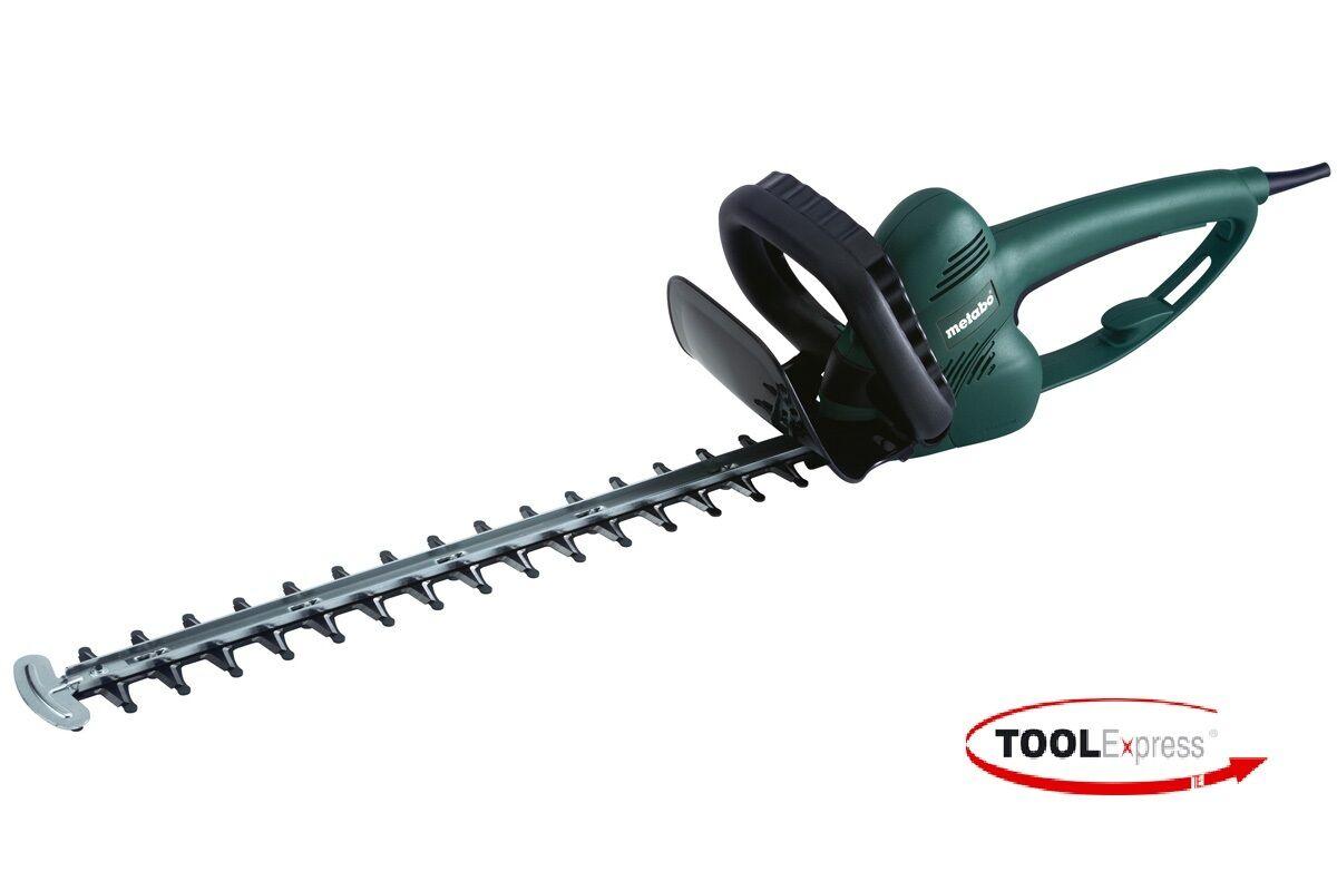 Heckenschere  Metabo 450 Watt 230 V Heckenschere HS 55   55 cm Schwert  3 6 Kg
