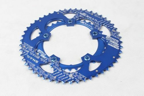 35 50T 9-11 speed 110 BCD Double Oval Chainring MTB Road Bike Bicycle Chain Ring