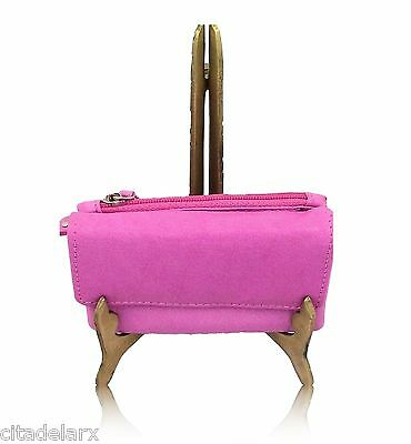 Mala Real Leather Ladies Purse Card Coin Womens New Small Soft Zip Wallet Bag