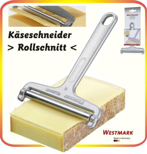 """Käseschneider /""""Rollschnitt/"""" ALU WESTMARK Käse Scheiben Hobeln Schneiden NEU"""