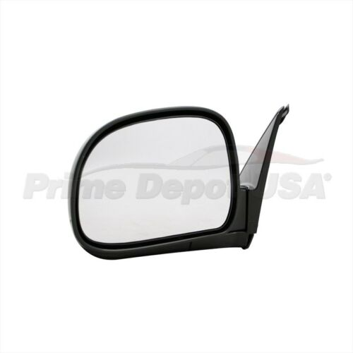 A BRAND NEW #1 HIGH QUALITY MANUAL MIRROR for LEFT HAND SIDE DRIVER DOOR