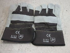 Majestic Glove 4501cvp9 Small Leather Split Work Gloves New Lot Of 3 Pairs
