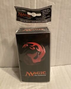 Magic-the-Gathering-Ultra-Pro-MtG-Mana-5-Mountain-Deck-Box-with-Dice-Tray