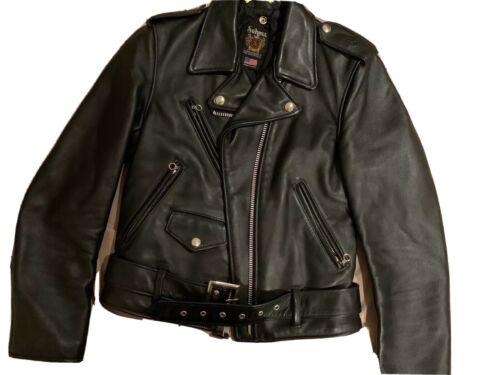 Schott 613 Onestar Motorcycle Jacket Leather Cowhi