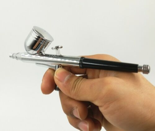 0.2//0.3//0.5mm Dual Action Airbrush Paint Spray Gun Cake Craft Tattoo Nail Art