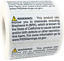 1 x 2 Inches California Proposition 65 Contains BPA Stickers 500 Labels Total