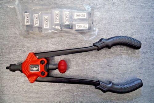 300 Stahl Blindnietmuttern Nietmuttern Zange M12 Hebel Nietmutternzange M3