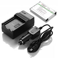 Np-20 Battery + Charger For Casio Exilim Ex-z60 Ex-z70 Ex-z75 Ex-z77 S770 S880