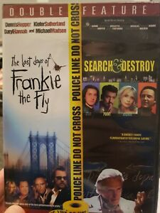 Last-Days-Of-Frankie-The-Fly-Search-amp-Destroy-DVD-Rare-Hard-To-Find-OOP-2-Disc
