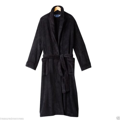 Men/'s Croft /& Barrow Plush Robe ~ Pick Your Size /& Color ~ NWT