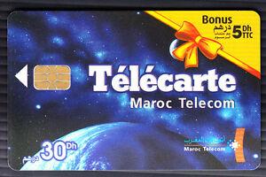 AFRIQUE TELECARTE - PHONECARD .. MAROC 30+5DHS MT ESPACE V° 5TC 05-05 CHIP-PUCE 8Wbo1cCs-09165911-187877213
