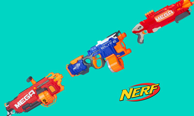 Click here to shop 20% off Selected Nerf*