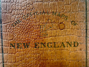 The-Official-Maps-Of-New-England-The-National-Survey-Company-VTG-Book-1920-s
