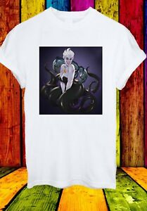 Ursula-la-sirenetta-Strega-Cattivi-Disney-Uomini-Donne-Unisex-T-shirt-784