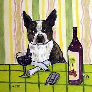 boston-terrier-wine-bar-ceramic-dog-art-tile-coaster-gift
