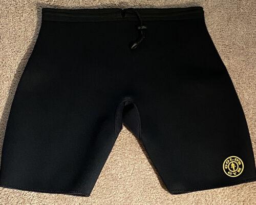 Golds Gym Black Neoprene Compression Shorts Elasti