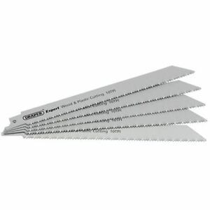 Draper-250mm-Reciprocating-Saw-Blades-10tpi-Pack-Of-5-Blades-02304